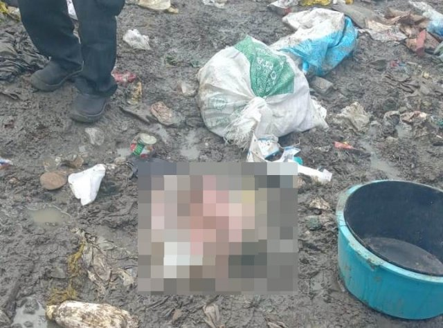 criança foi encontrada morta dentro de um saco plástico