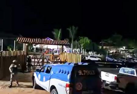 Polícia encerra festa em fazenda com cerca de 300 pessoas no sudoeste da Bahia