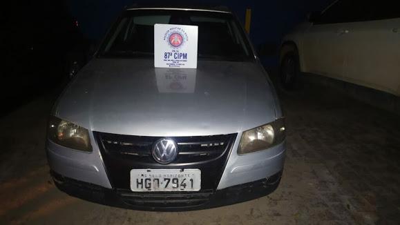 Carro usado por criminoso de itabuna que morreu em confronto com a pm