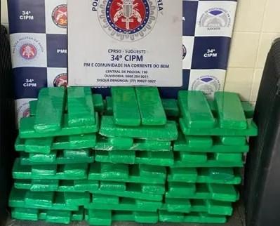 Casal é preso com 120 quilos de maconha em Brumado – BA