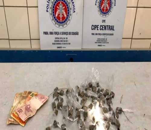 CIPE prende homem acusado de tráfico de drogas em Jequié – BA