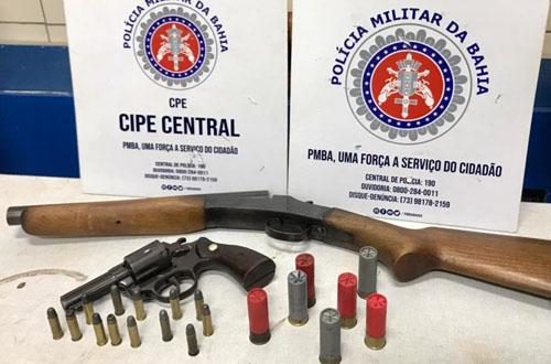 CIPE prendeu 2 ciganos armados na noite de ontem (sábado) – Jequié