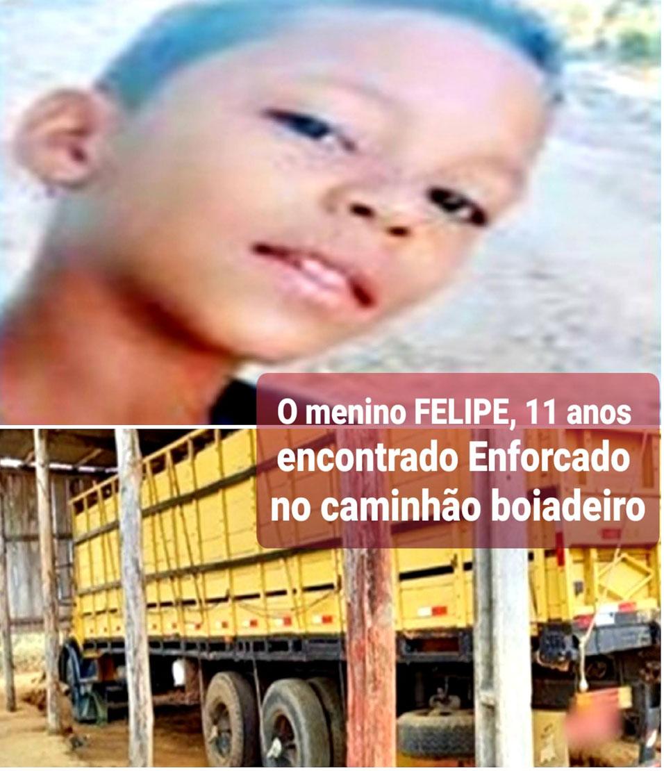 Criança é encontrada enforcada dentro de caminhão boiadeiro em Itapetinga