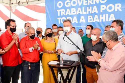 Governador da Bahia Rui Costa em Itagibá