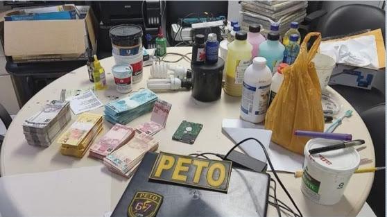 Homem é preso suspeito de criar laboratório que falsificava cédulas e CNHs na BA