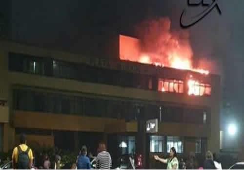 Hotel em Armação pega fogo e seis pessoas são socorridas – Salvador BA