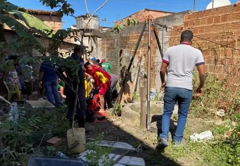 Idoso morre após cair em cisterna; tampa de reservatório quebrou enquanto vítima estava sentada – Teixeira de Freitas