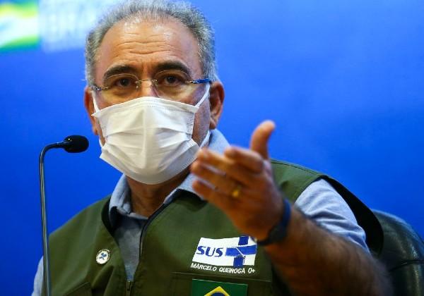 Ministro anuncia chegada em julho de 4 milhões de doses do Covax