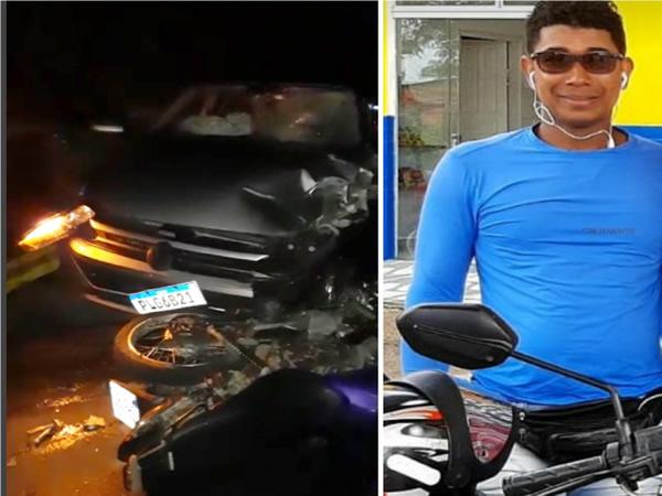 Mototaxista morre após colidir com carro na BR-330, entre Jitaúna e Jequié – BA