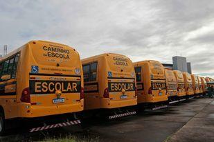 Governador: Rui entrega ônibus escolares para 43 municípios baianos
