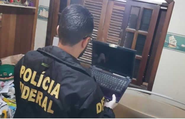 PF prende suspeito de compartilhar conteúdo de exploração sexual infantil em Jacobina – BA