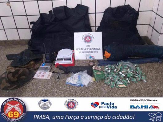 Policia de Ilhéus descobre artimanha de traficantes, maconha vendida como Big Big