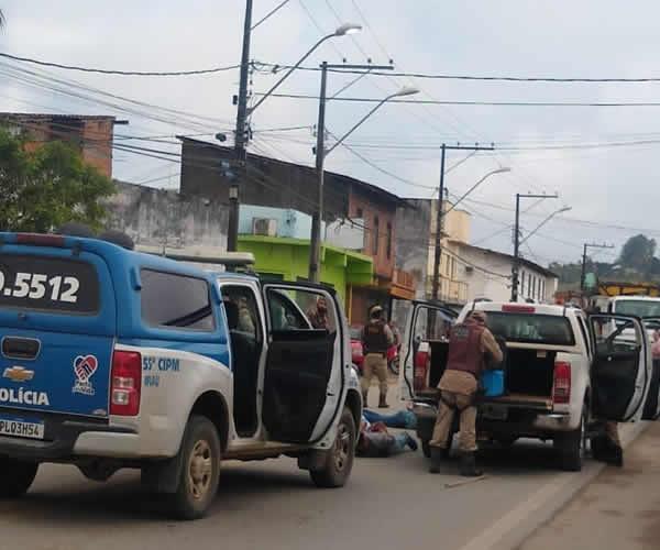 Polícia Militar impede sequestro em Ipiaú – BA