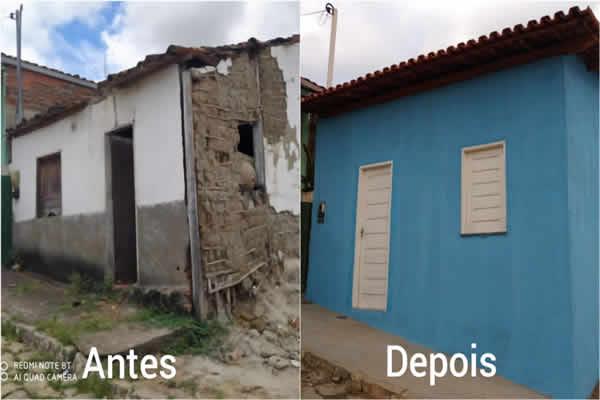 Projeto Casa Solidária em Itarantim entrega mais uma residência nesta terça-feira