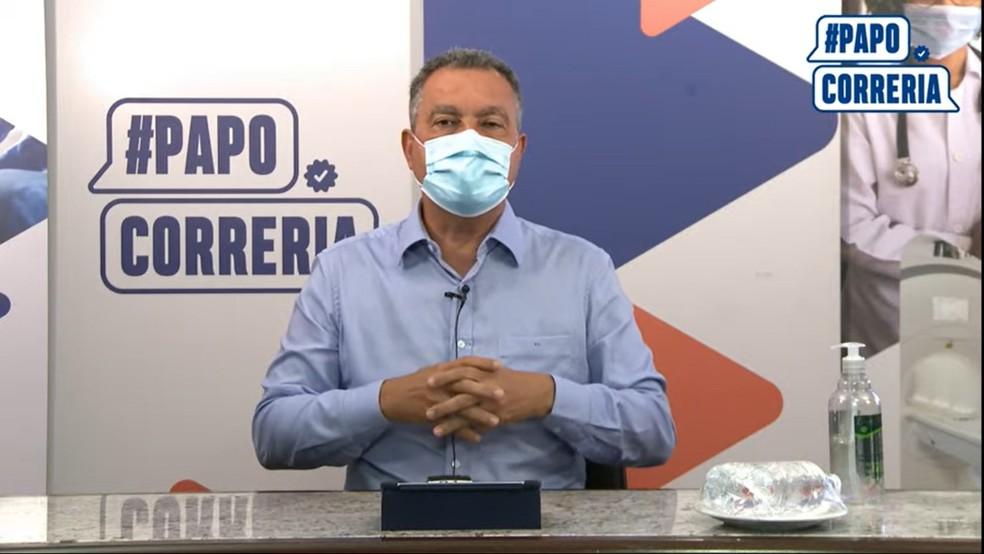 Rui Costa anuncia volta às aulas semipresenciais na Bahia no dia 26 de julho