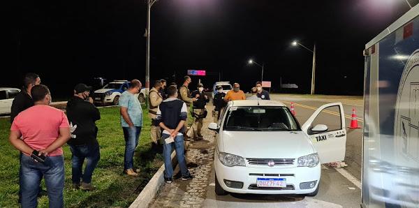 Taxista de Itabuna é morto a tiros no trevo de Buerarema