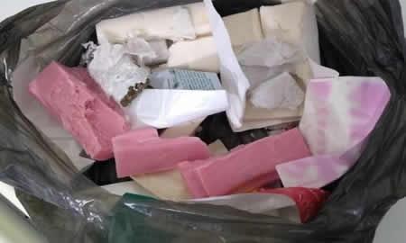 Tentaram entrar no Conjunto Penal de Jequié com drogas dentro de sabonetes