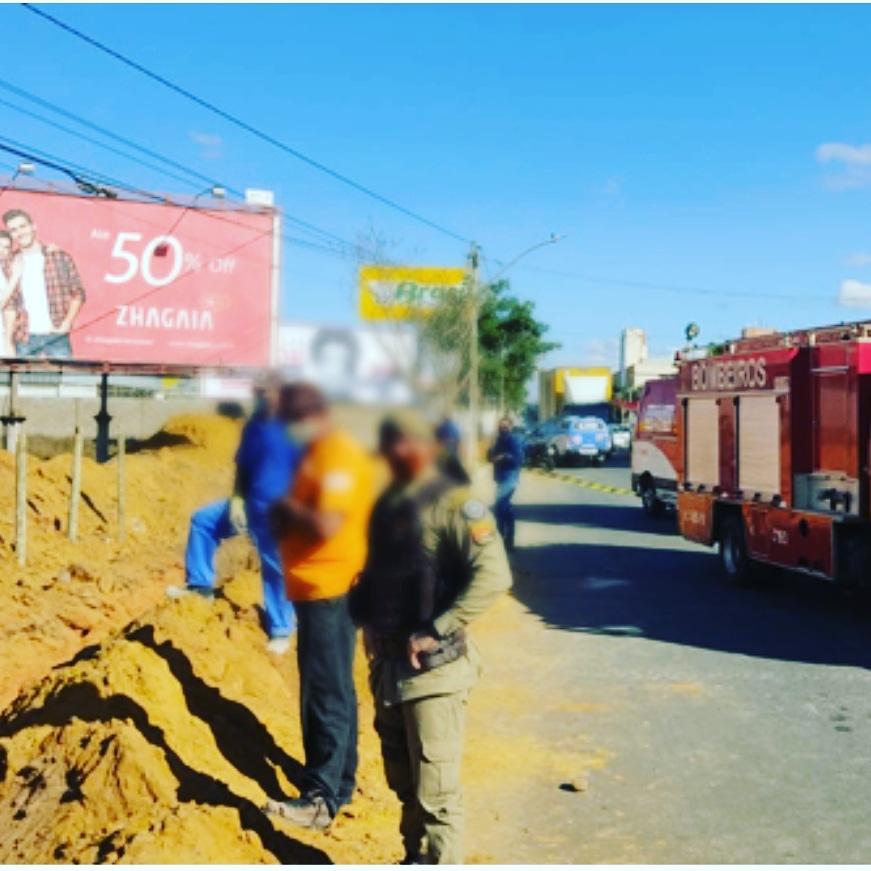 Tragédia: 03 trabalhadores morrem durante deslizamento de obra em Conquista