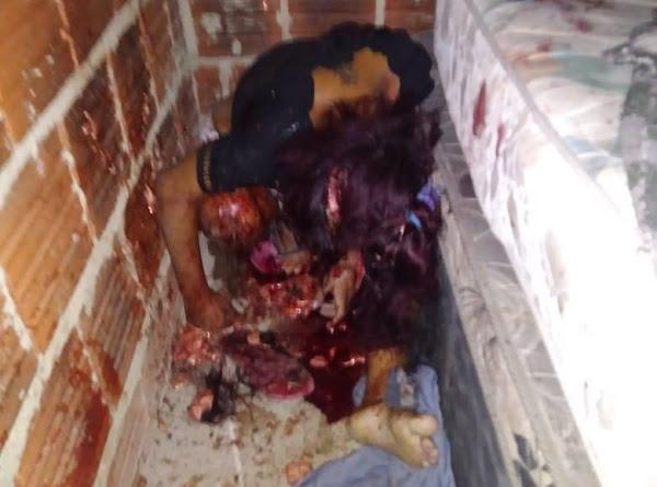 mulher morta em Barro Preto