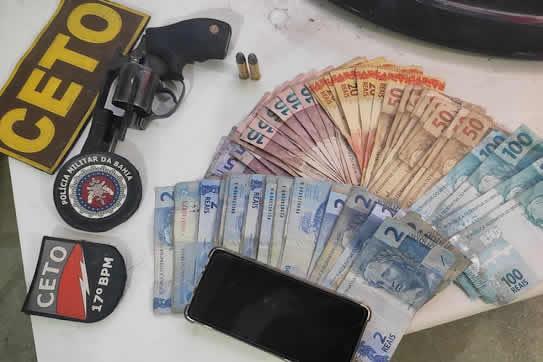 Dono de bar é preso por porte ilegal de arma de fogo em Guanambi – BA