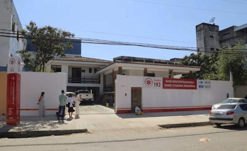 Prefeitura de Itabuna inaugura Base Descentraliza do Samu-192 em Itabuna – BA
