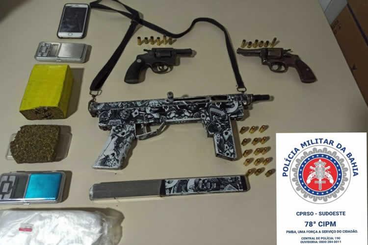 Três armas são apreendidas com suspeitos de crime contra a vida em Vitória da Conquista – BA