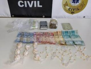 Homem é preso em flagrante com 300 pedras de crack em Itabuna – BA