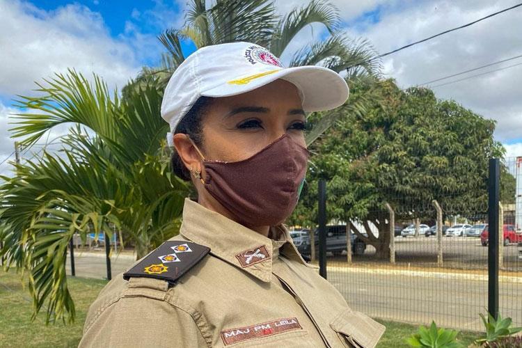 Major Leila fala das expectativas e projetos como primeira mulher a assumir a 34ª CIPM – Brumado