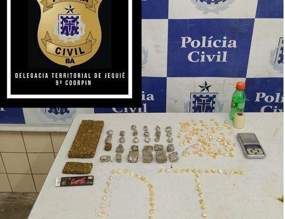 """Polícia Civil apreende drogas e indivíduos fogem do """"Beco da Onça"""", em Jequié – BA"""