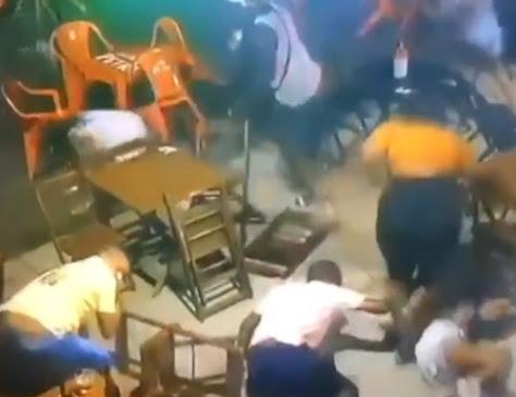 Policial militar confessa ter matado colega a tiros dentro de bar em Salvador