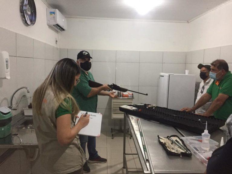 Profissionais do Parque da Matinha, participam de treinamento sobre Plano de Ação em Emergência - Itapetinga BA